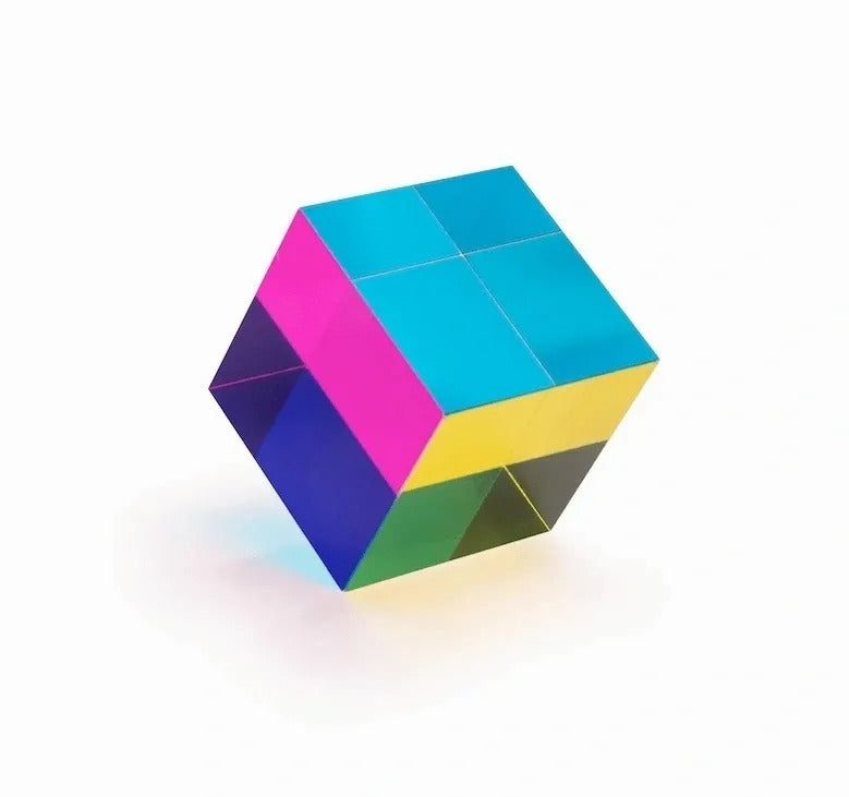 CMY Optic Prism Cube - 1 Cube / 18mm - Sparbi.com