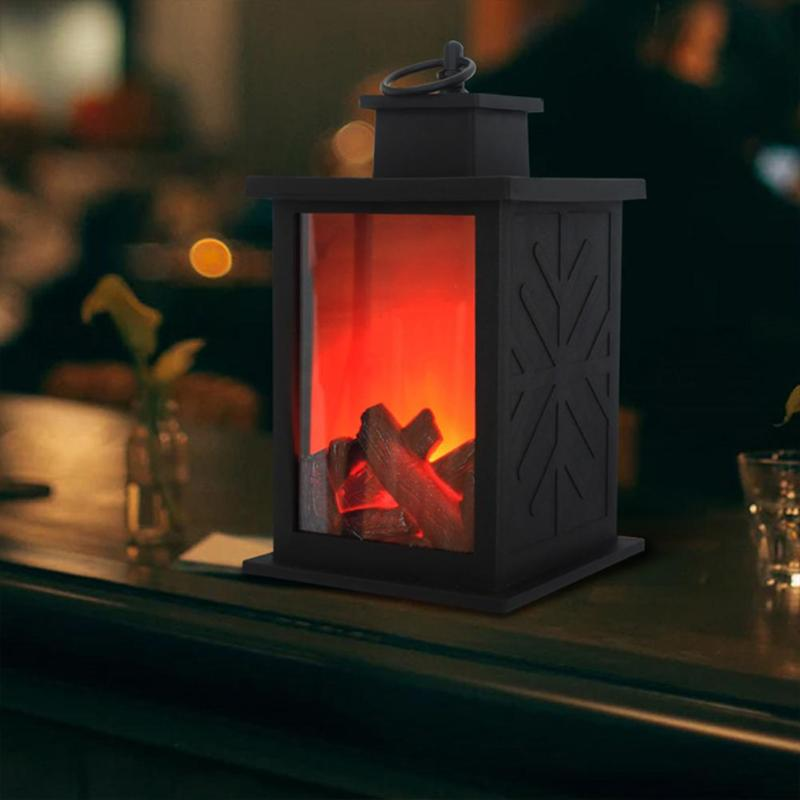 EmberGlow™ LED Fire Lantern - Sparbi.com