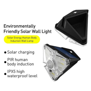 SolarSmart™ Wall Light - Sparbi.com