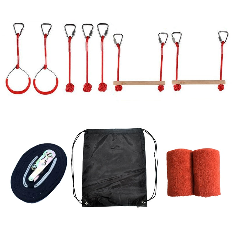 WarriorCourse™ Obstacle Set - Red - Sparbi.com