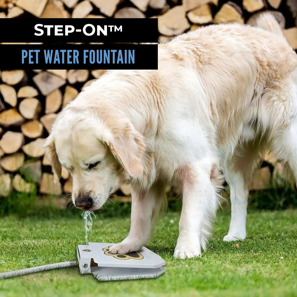 Step-On™ Pet Water Fountain - Sparbi.com