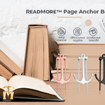ReadMore™ Page Anchor Bookmark - Gold - Sparbi.com