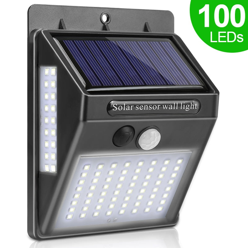 Sunny™ Solar Powered LED Wall Light - 1 Piece - Sparbi.com