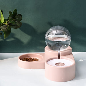 PetMe™ Automatic Bubble Feeder - Pink - Sparbi.com