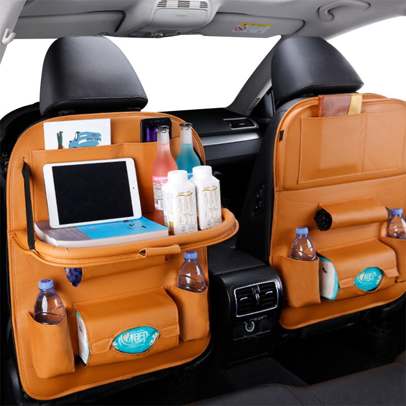Codify™ Car Back Seat Organizer - Coffee - Sparbi.com