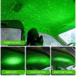 Car Galaxy Roof Light™ - Green - Sparbi.com