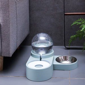 PetMe™ Automatic Bubble Feeder - Blue - Sparbi.com