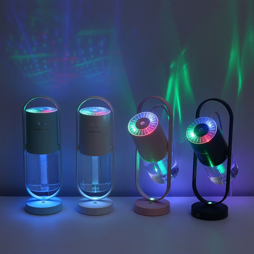 MistMaker™ Portable LED Humidifier - Sparbi.com