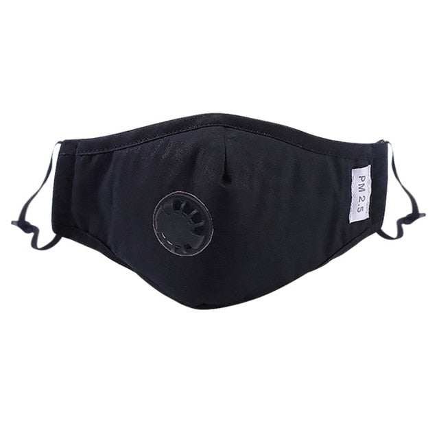 AirPure™ Anti Pollution Mask - Black - Sparbi.com