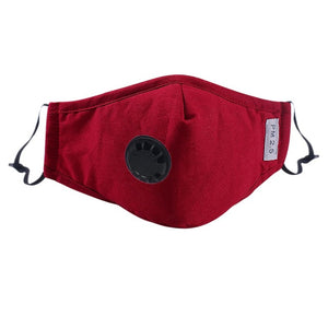AirPure™ Anti Pollution Mask - Red - Sparbi.com