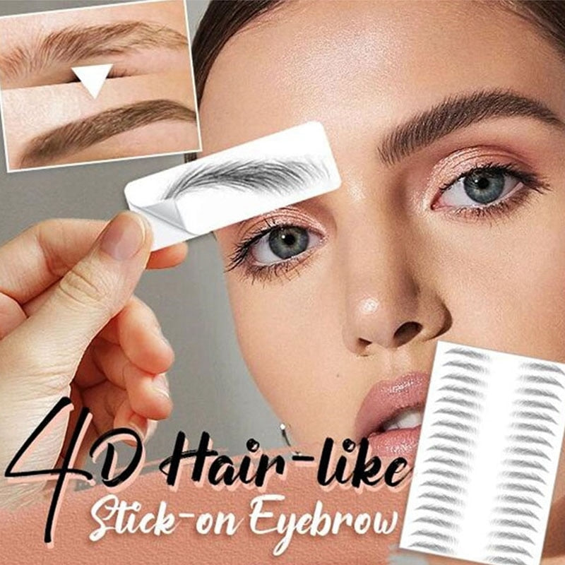 4D Stick-On™ Eyebrow Tattoo - Sparbi.com