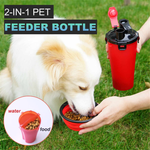 Pawssential™ 2 In 1 Pet Feeder Bottle - Sparbi.com
