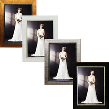 Load image into Gallery viewer, Contemporary, high style photo frames. Great for wedding and other formal pictures