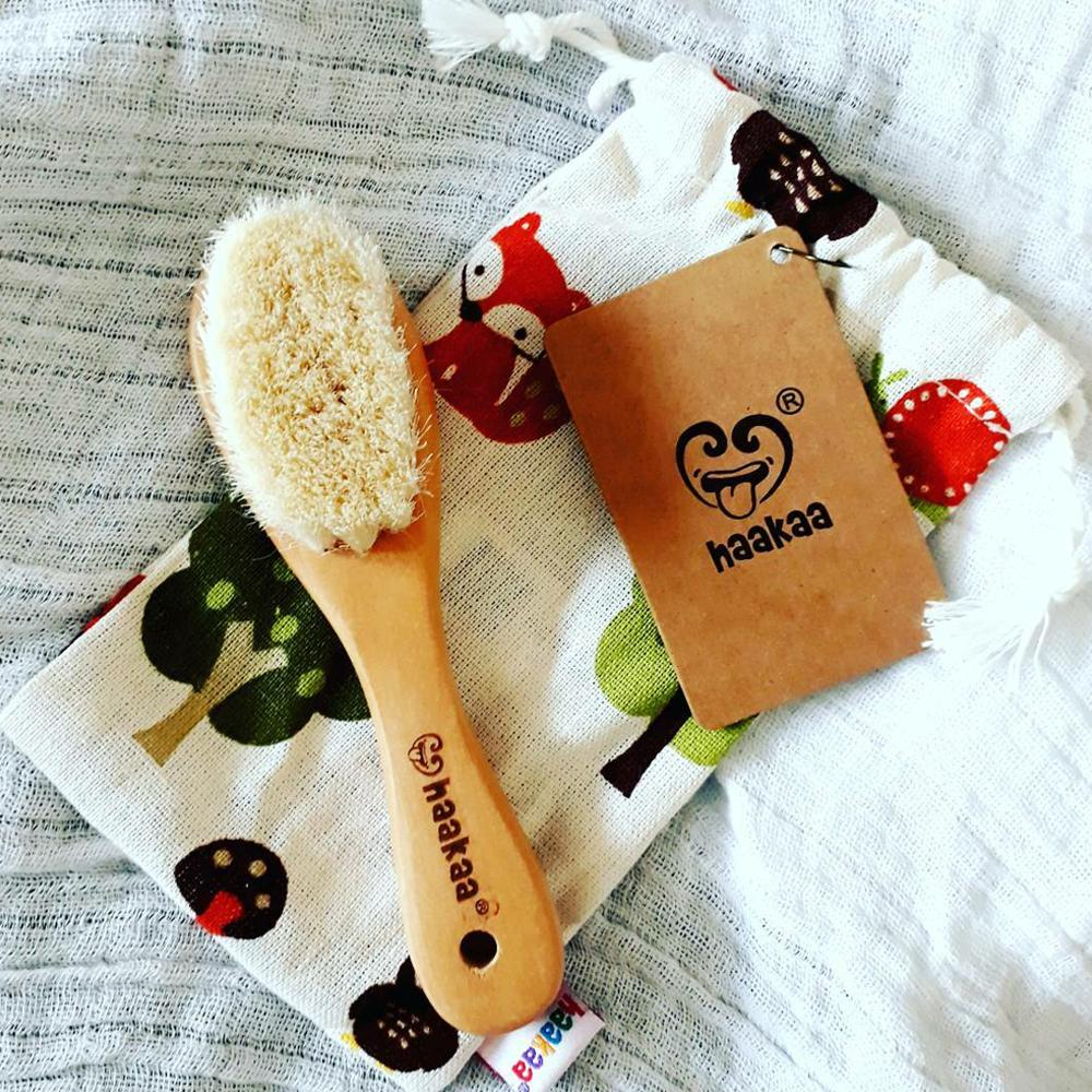 Haakaa Goats Wool Hair Brush