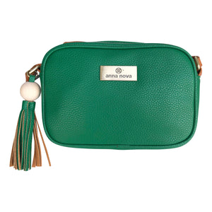 Tropicana Satchel in Emerald Green