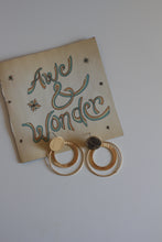 Load image into Gallery viewer, Sadie -- Gold Statement Earrings