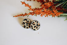 Load image into Gallery viewer, Fia -- Animal Print Studs