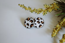 Load image into Gallery viewer, Faye -- Animal Print Studs