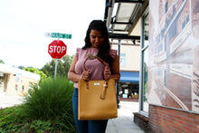 Load image into Gallery viewer, Paradiso Tote in Mustard