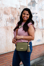 Load image into Gallery viewer, Paradiso Satchel-Olive Green