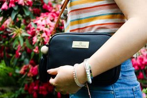 Tropicana Satchel in Black