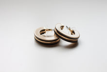 Load image into Gallery viewer, Tasman Hoop Earrings in Taupe