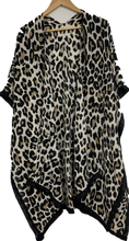 Load image into Gallery viewer, Flora -- Animal Print Duster