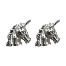 Load image into Gallery viewer, Unicorn Stud in Silver