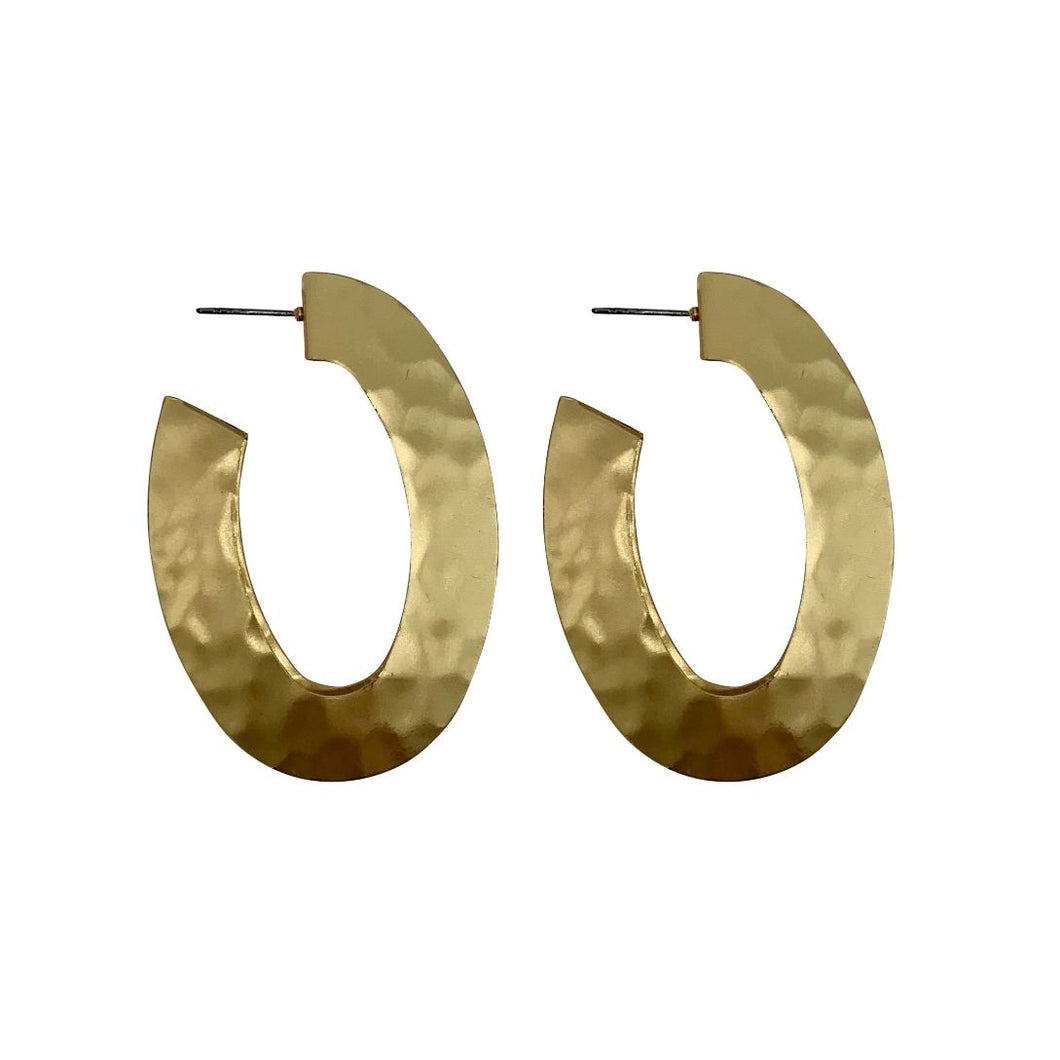 Harper Hoops Statement Earrings