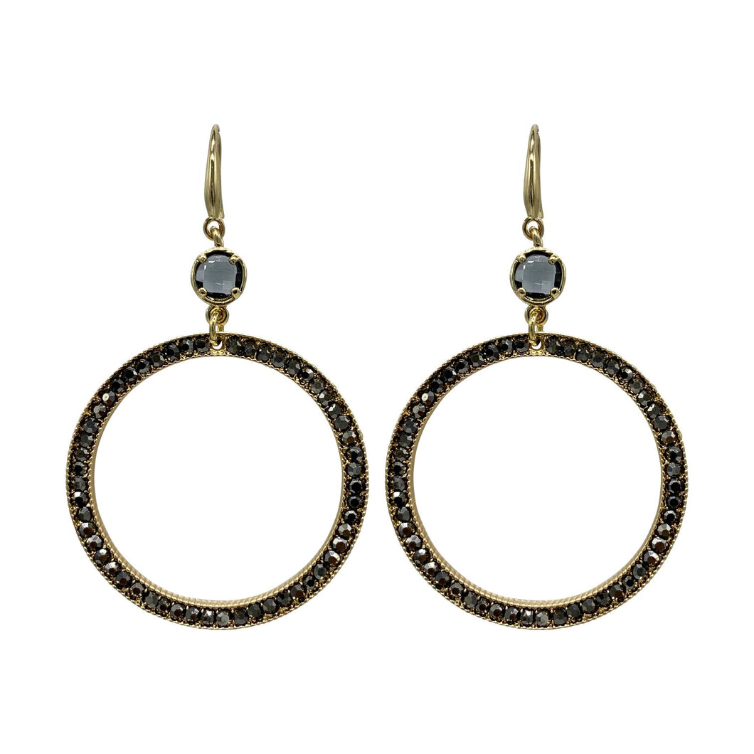 Jasmine Classic Dangle Statement Earrings