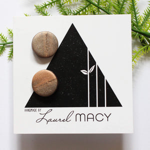 One of a Kind Laurel Macy Classic Studs Earrings 0475