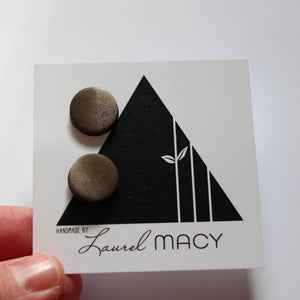 One of a Kind Laurel Macy Classic Studs Earrings 0477