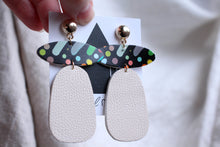 Load image into Gallery viewer, Artsy Leather Dangles