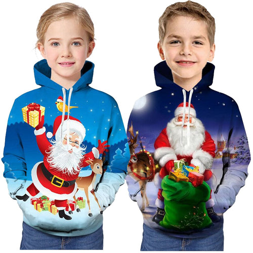 Christmas Boys Girls Hoodies Sweatshirts Children The Avengers Endgame Marvel Superhero Captain America Iron Man Kids Sweatshirt