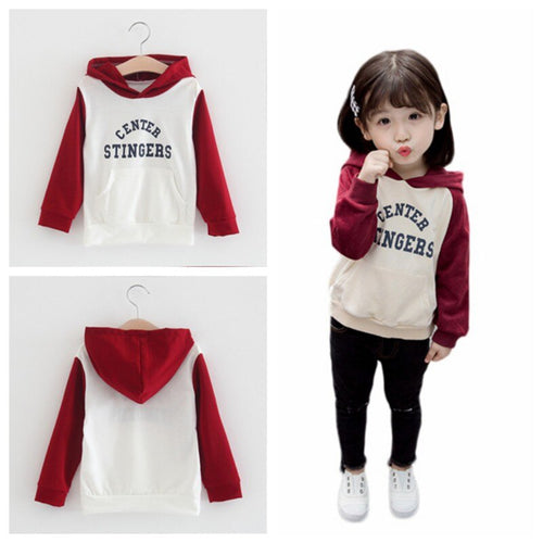 Cartoon Printed Long Sleeve Hoodie Sweatshirts fashionable Baby Boy Girl Clothes Autumn Blouse Casual Toddler Clothing