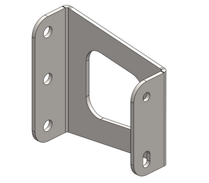 Awning Mount bracket - Digital Cut Files & blueprints