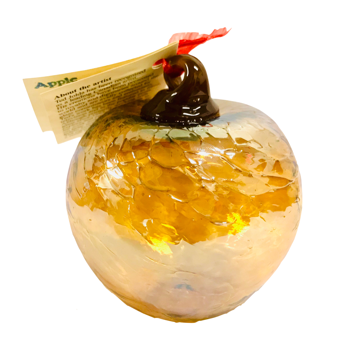 Golden Apple Ornament