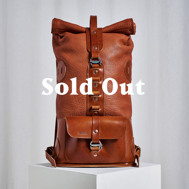 Specials S.01 - Fold Top Backpack in Honey Color
