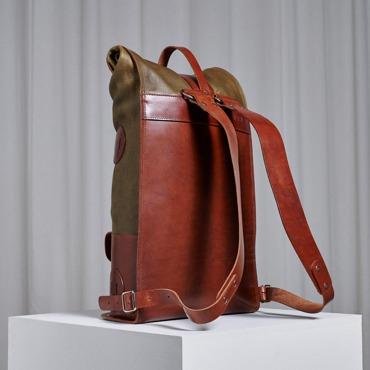PRE-ORDER - Specials S.03 - Moss Green White Tail Fold Top Backpack (Total Cost 650€)
