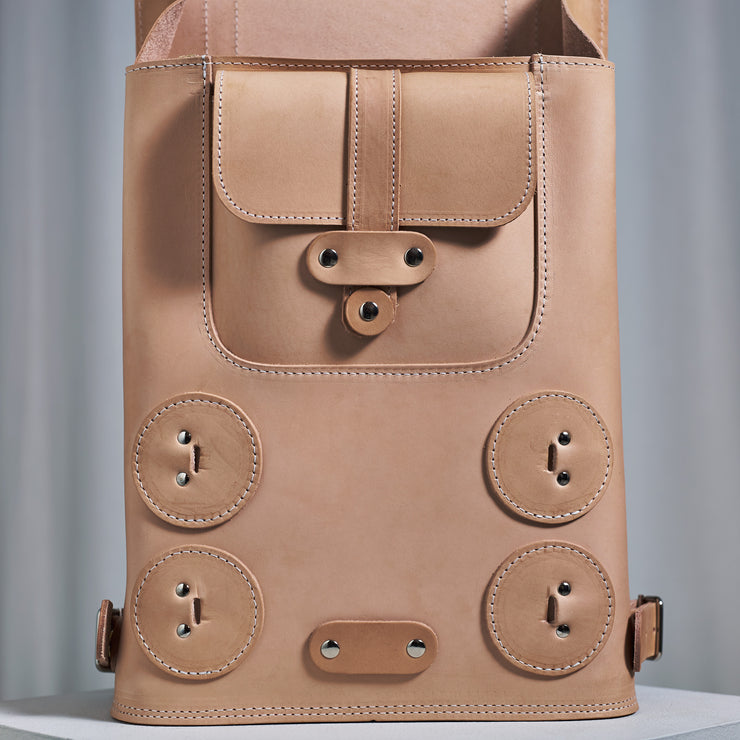 Specials S.02 Backpack, Small in Natural Tan Color