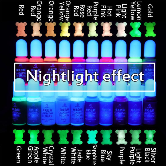 Glow in Dark  Epoxy UV Resin Coloring Dye