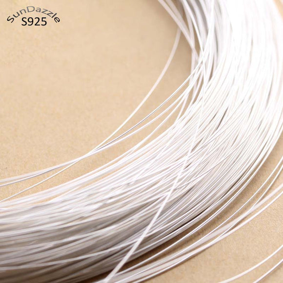 0.4-1.2mm Solid 925 Sterling Silver Wire