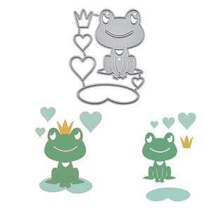 Lotus Leaf Frog Metal Cutting Dies