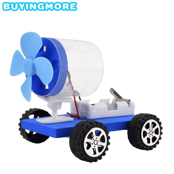 Electric Air Powered Car Model Kit