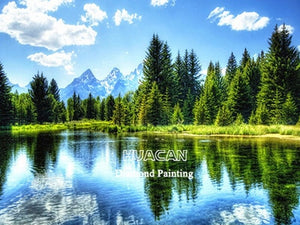 Diamond Painting Kit, Landscape