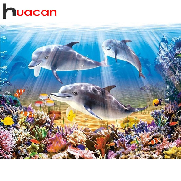 Diamond Painting Dolphin  Kits