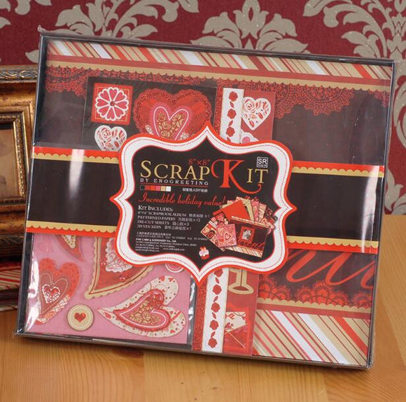 Valentine's Day  Scrapbook