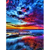 Diamond Painting Art Kit Sunset