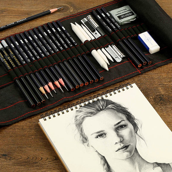 Sketch Pencil Set, Charcoal