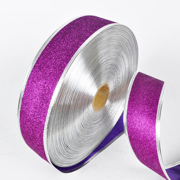200 X 5 CM  Metallic Glitter Ribbons